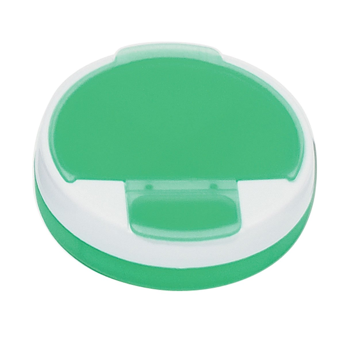 Round Pill Holder - 250 Quantity - PROMOTIONAL PRODUCT / BULK / BRANDED with YOUR LOGO / CUSTOMIZED - Kineticpromos #7540 (Green) by Kinetic