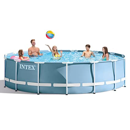 Amazon.com : INTEX 15ft X 42in Prism Frame Pool Set with Filter Pump ...