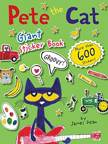 Pete Cat Giant Sticker Book product image