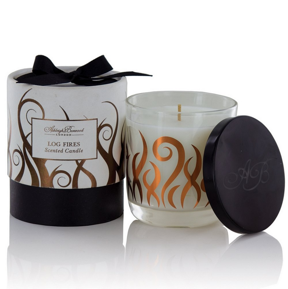 Special Edition Scented Candle 200g - Log Fires Ashleigh & Burwood ABXC03