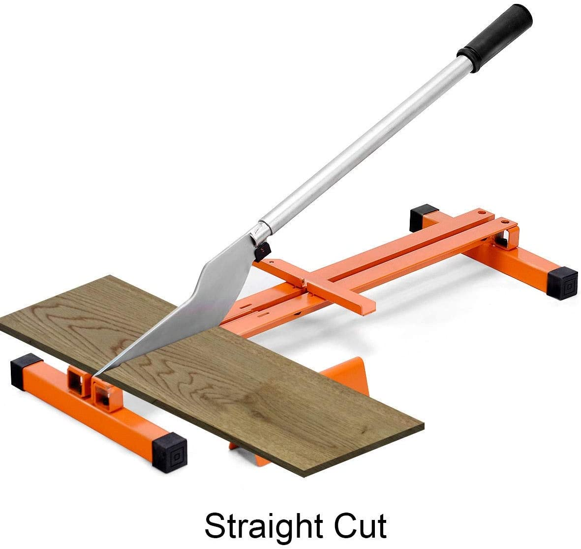 Contractor Flooring Hand Tool V-Support Steel Mandycng Magic Polywood Flooring Handheld Cutting Home DIY Tool Professional Heavy Duty Laminate Flooring Cutter
