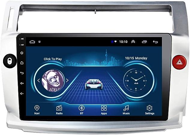 Dr.Lefran Radio de Coche Android 10 para Citroen C4 C ...