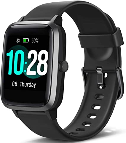 Amazon Com Blackview Smart Watch For Android Phones And Ios Phones All Day Activity Tracker With Heart Rate Sleep Monitor 1 3 Full Touch Screen 5atm Waterproof Pedometer Smartwatch For Men Women Sports
