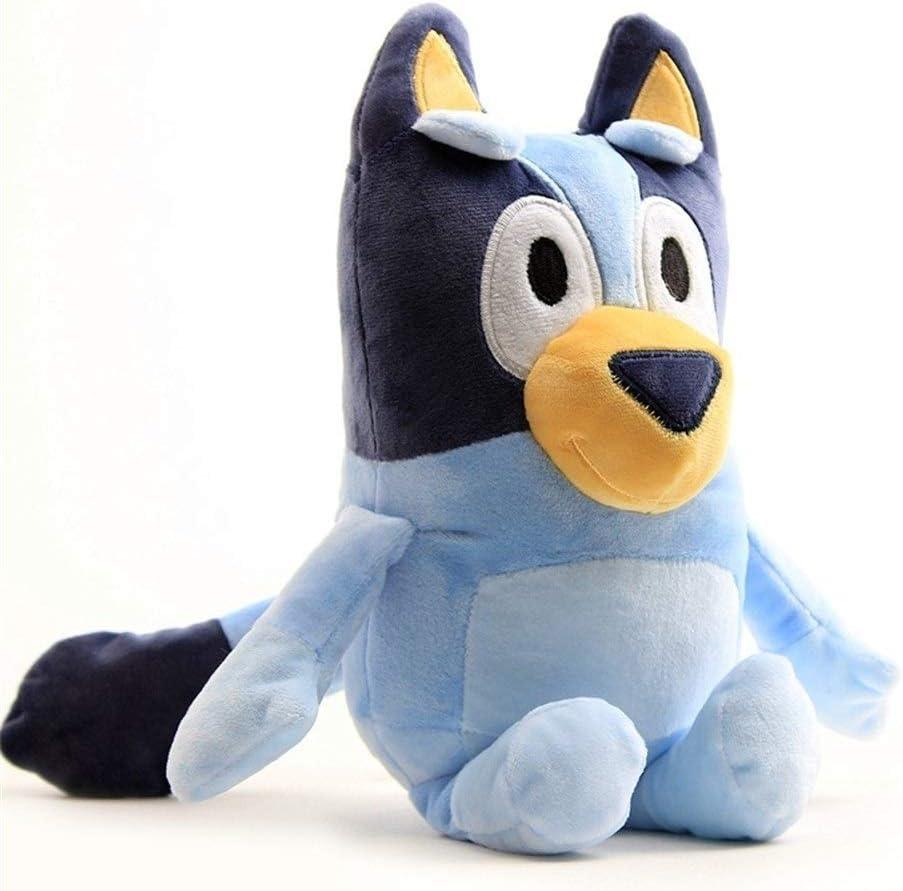 los 28CM Bluey bingo de juguete de felpa de dibujos animados lindo suave Bluey familiares mu/ñecas Animales de peluche J POOMALL Juguetes de peluche rellenos de la mu/ñeca Animales Estatuilla Juguetes
