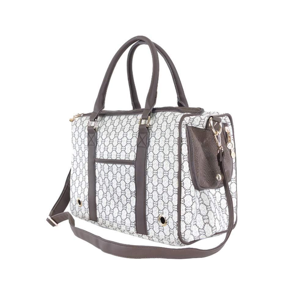W-lei Pet backpack Portamonete Morbido Borsa da Viaggio Zaino per Cani Zaino per Animali Domestici (per Cani di Piccola Taglia, Gatti)