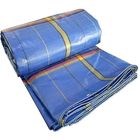 Almohadilla impermeable acolchada Sombrilla Exterior Impermeable Cobertizo Lona de protección solar Lona de alta densidad tejida