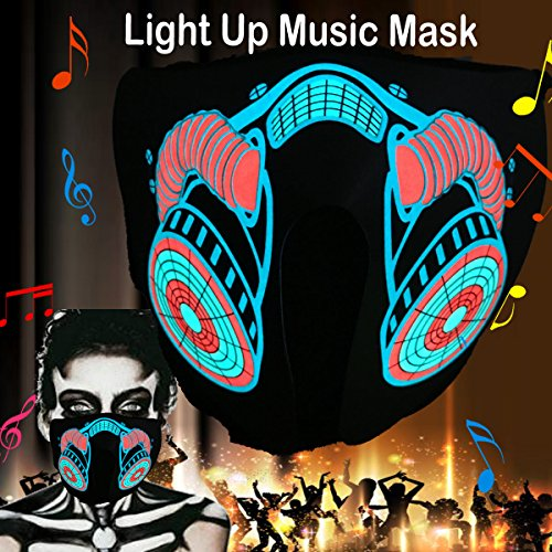 Led Light Up Mask - 2