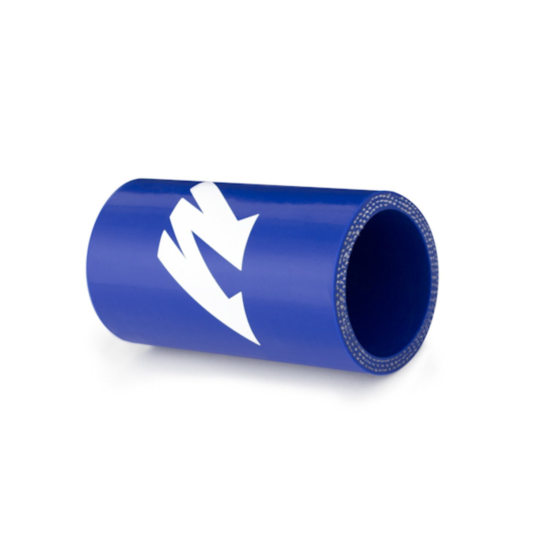 Blue Mishimoto MMCP-25SBL 2.5 Straight Coupler