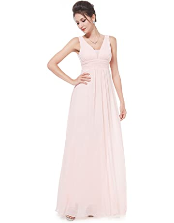 4ecf2c50d2f5 Ever-Pretty Double V-Neck Elegant Ruched Waist Ladies Long Evening Dress  08110