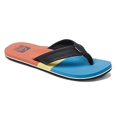 Reef Men's Sandals Tri Waters | Aqua/Blue | Size 12: Shoes