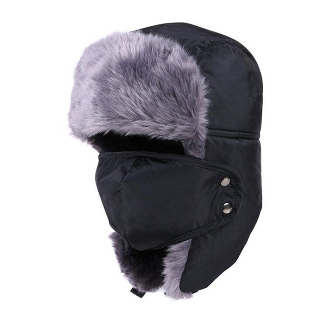 SUNRIS Winter Sports Earflap Balaclavas With Removable Face Cover For Hunting Mountaineering