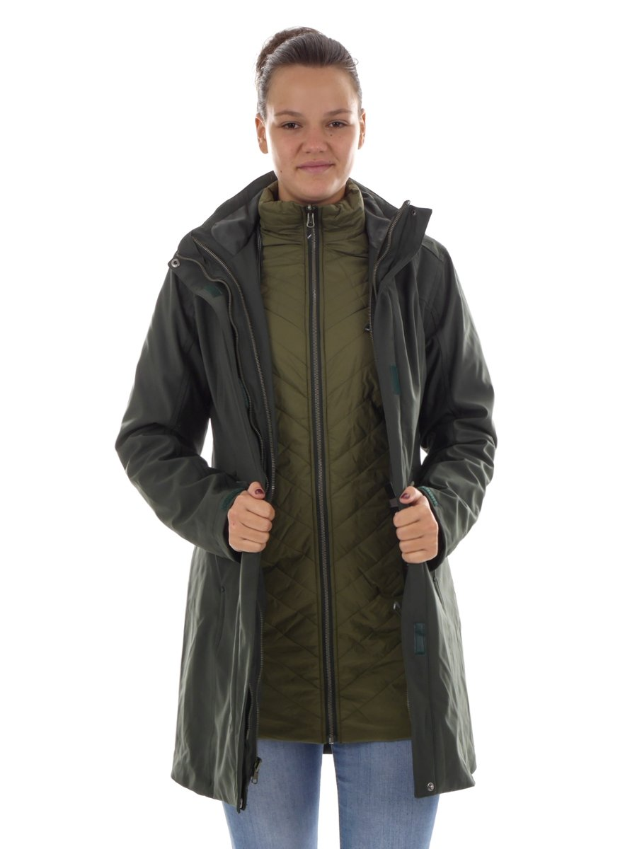 CMP Parka Winterjacke Funktionsjacke GR/ÜN Thinsulate/™ CLIMAPROTECT/® 3Z22376D