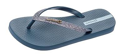 68f8102c6b6c03 Ipanema Womens Flip Flops Lolita Glitter Beach Sandals-Blue-5