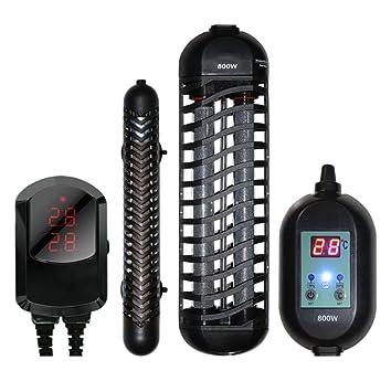 Ruyi&JixiangAcuario Termostato Automático Barra De Calentamiento Pecera A Prueba De Explosiones Led Pantalla Digital Alarma De