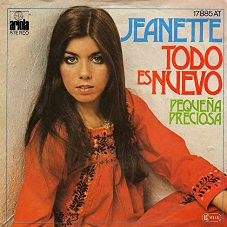 Jeanette Dimech - Todo Es Nuevo - Ariola - 17 885 AT: Jeanette ...