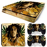 FriendlyTomato PS4 Slim Skin and DualShock 4 Skin – Weed 420 – PlayStation 4 Slim Vinyl Sticker for Console and Controller Skin For Sale
