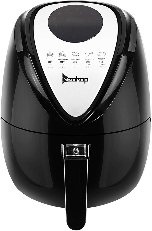 KAF1300P-D1 120V 1500W 2.85QT/2.7L Air Fryer Computer Model Black US Plug - for Apartment Home Small Restaurant, Healthy Frying, Precise Temperature Control