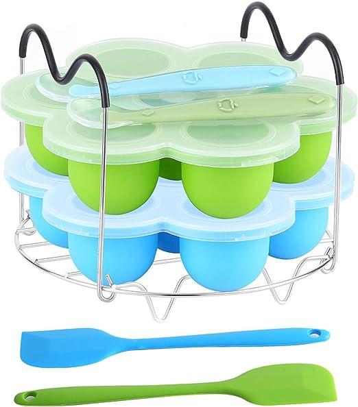 Egg Steamer Trivet Rack w//Heat Resistant Handle fits instant pot pressure cooker