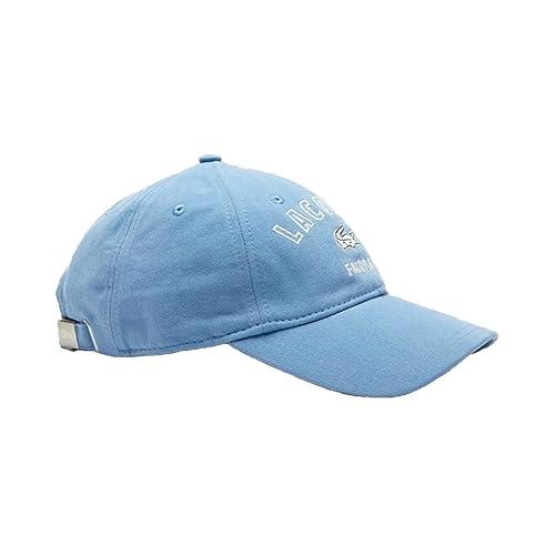 CAPPELLO BLU LACOSTE RK9266-HXJ  Amazon.it  Abbigliamento c4a598a462e1