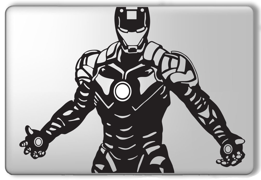 Ironman Custom Stickers