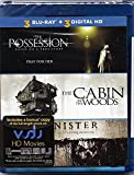 3 Horror Movie Pack The Possession/The Cabin in the Woods/Sinister