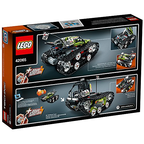 61oo1123yFL - LEGO Technic RC Tracked Racer 42065 Building Kit (370 Piece)