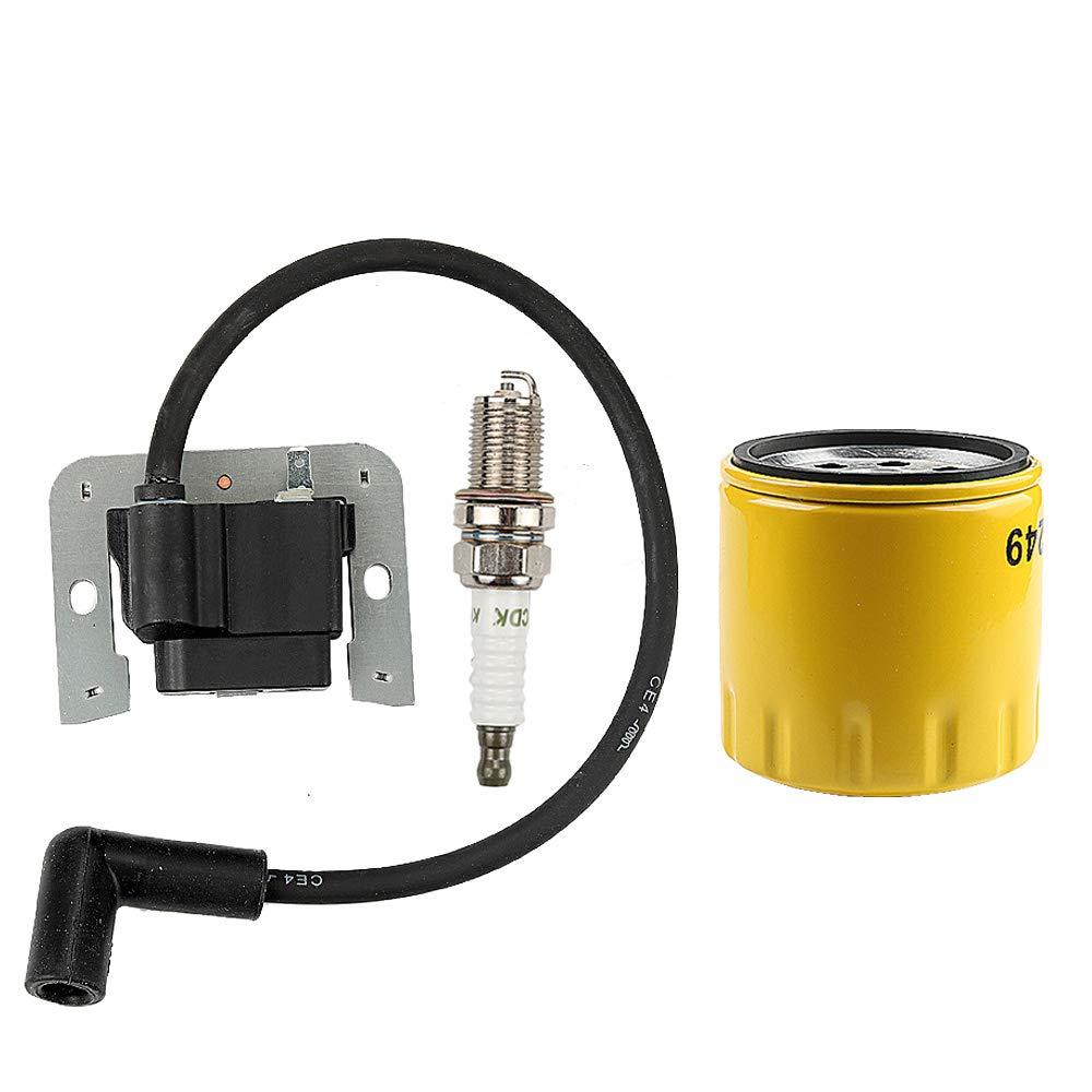 ATVATP 20 584 01-S Ignition Module for Kohler 20 584 03-S Coil 20 584 04-S Kohler SV470 SV480 SV530 SV540 15-18HP Engine Command Riding Lawn Mower & 12 050 01-S Oil Filter