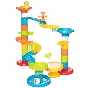 Manhattan Toy Stack, Drop & Pop! Preschool Activity Toy
