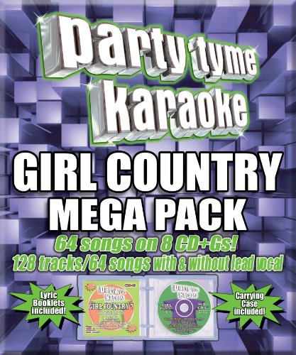 Mega Karaoke (Party Tyme Karaoke - Girl Country Mega Pack (8 CD+G))