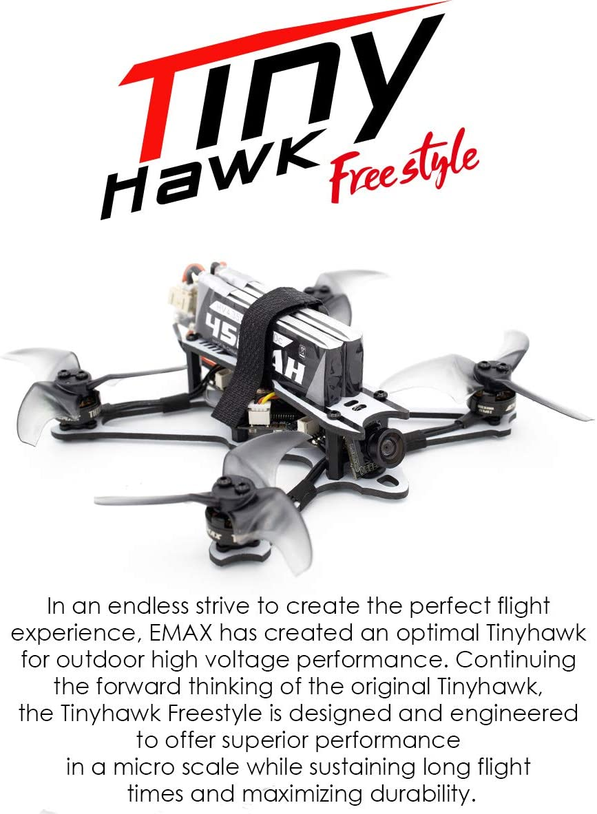 Emax Tinyhawk freestyle is the best outdoor racing nano quadcopter