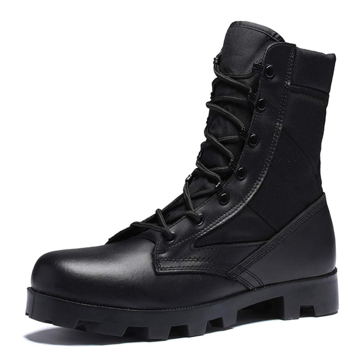 DANDANJIE Mens Army Military Combat Stiefel Sport Outdoor Sicherheit Polizei Taktische Stiefel Camping Wandern Klettern Schuhe Spezialeinheiten Schuh