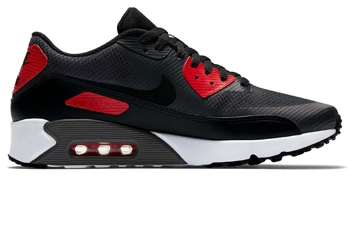 9451ccc54eeb6 NIKE AIR Max 90 Ultra 2.0 Essential Mens Running-Shoes 875695-007_12 -  Anthracite/Black-University RED-White