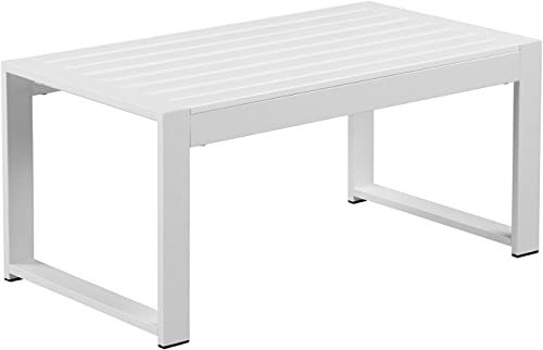 Pangea Home Karen CoffeeTable, White