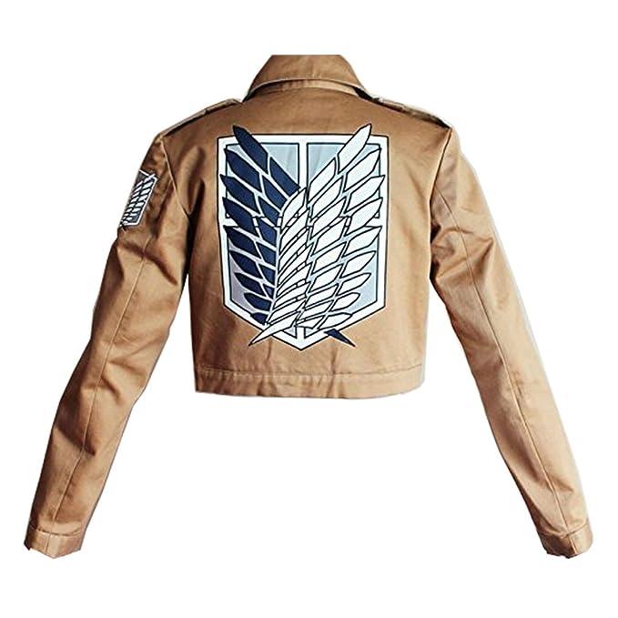 Giacche e cappotti SYMTOP Giacca per Donne Titan Shingeki No Kyojin Scouting Legion di Moda Fashion Attack