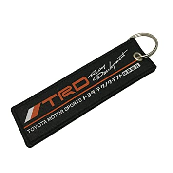 1pcs Black Color USA SHIP Unique Special Both Side Embroidered Key Chain Tag Keytags Superbike Motorcycle Scooters Racing Biker, House Keys, Cars, ...
