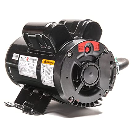 Amazon com: Ingersoll Rand 23378805 OEM Motor, 5Hp 230V/1Ph/60Hz