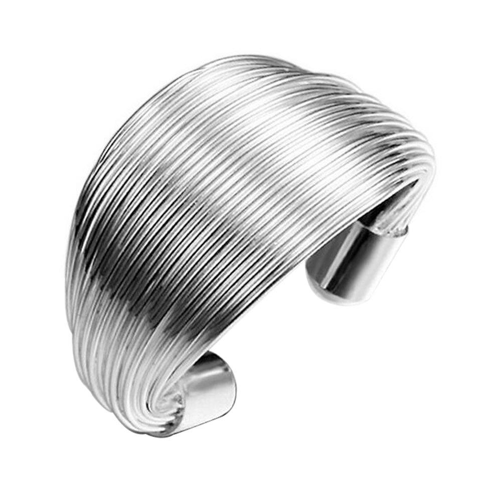 cosanter moda argento anello oeffnungsring Finger Anello Gioielli per matrimonio festa di fidanzamento