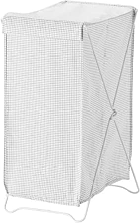 Ikea Torkis Panier A Linge Blanc Gris 903 199 75 Taille 86 267 6 Gram Amazon Fr Cuisine Maison