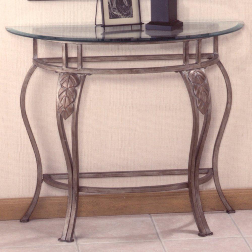 amazoncom hillsdale bordeaux console table kitchen  dining -