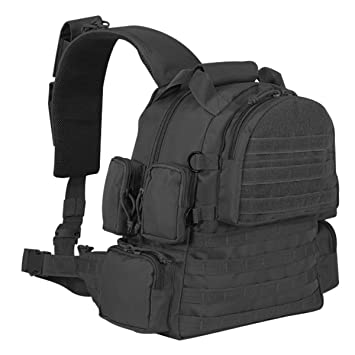 Amazon.com : Voodoo Tactical Sling Backpack Gear Bag, Black ...