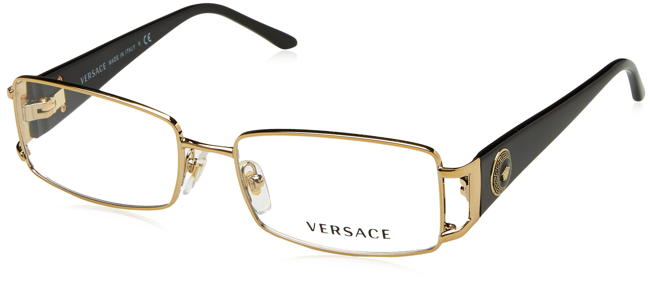 Versace VE1163M Eyeglass Frames 1252-52 - Pale Gold VE1163M-1252-52 by Versace