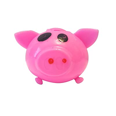 Splat Ball Novelty Squishy Toy Pink Pig: Everything Else