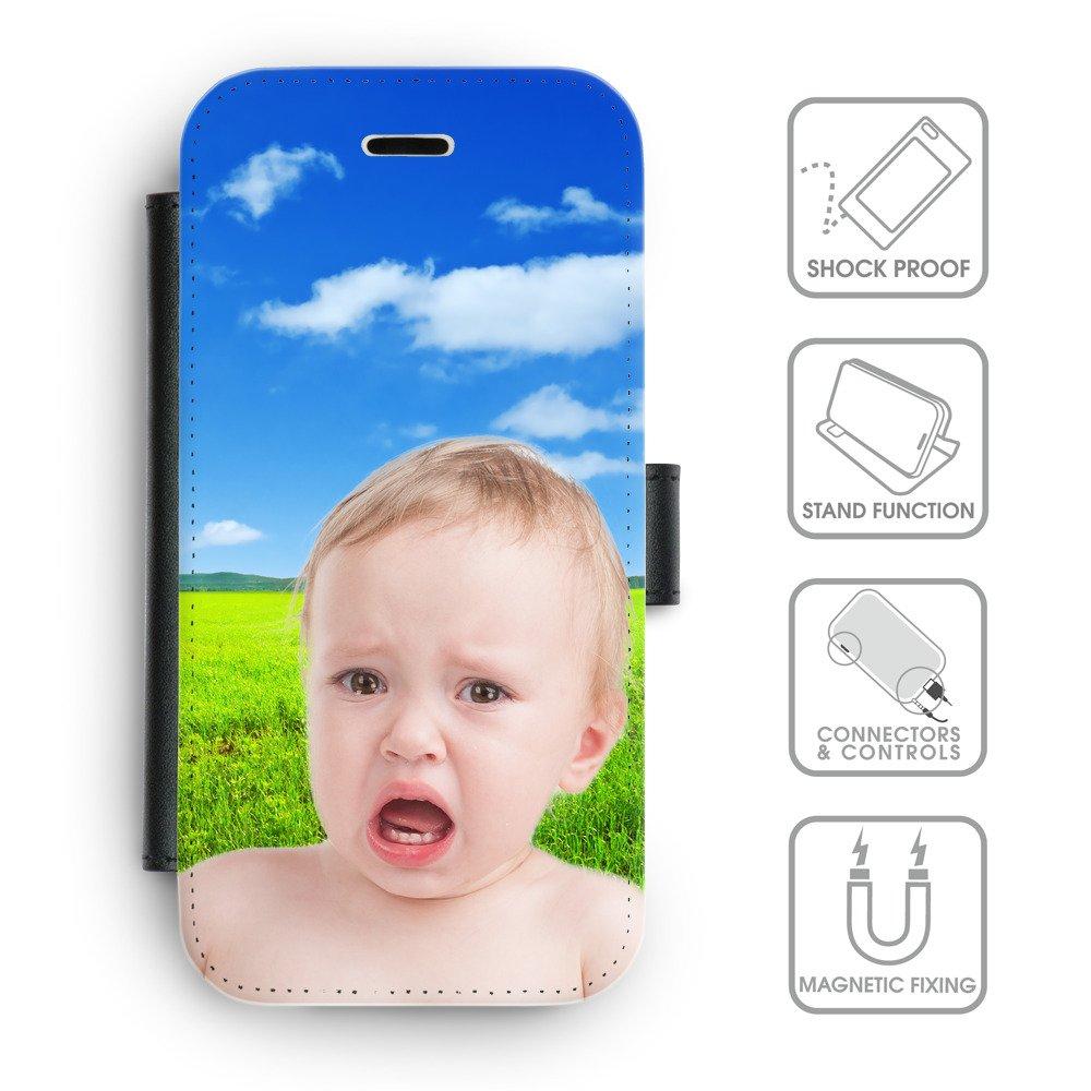 Amazon.com: Grand Phone Cases Flip PU Leather Wallet Case ...