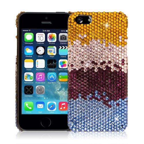 EMPIRE GLITZ Slim-Fit Case Étui Coque for Apple iPhone 5 / 5S - Purple Majesty