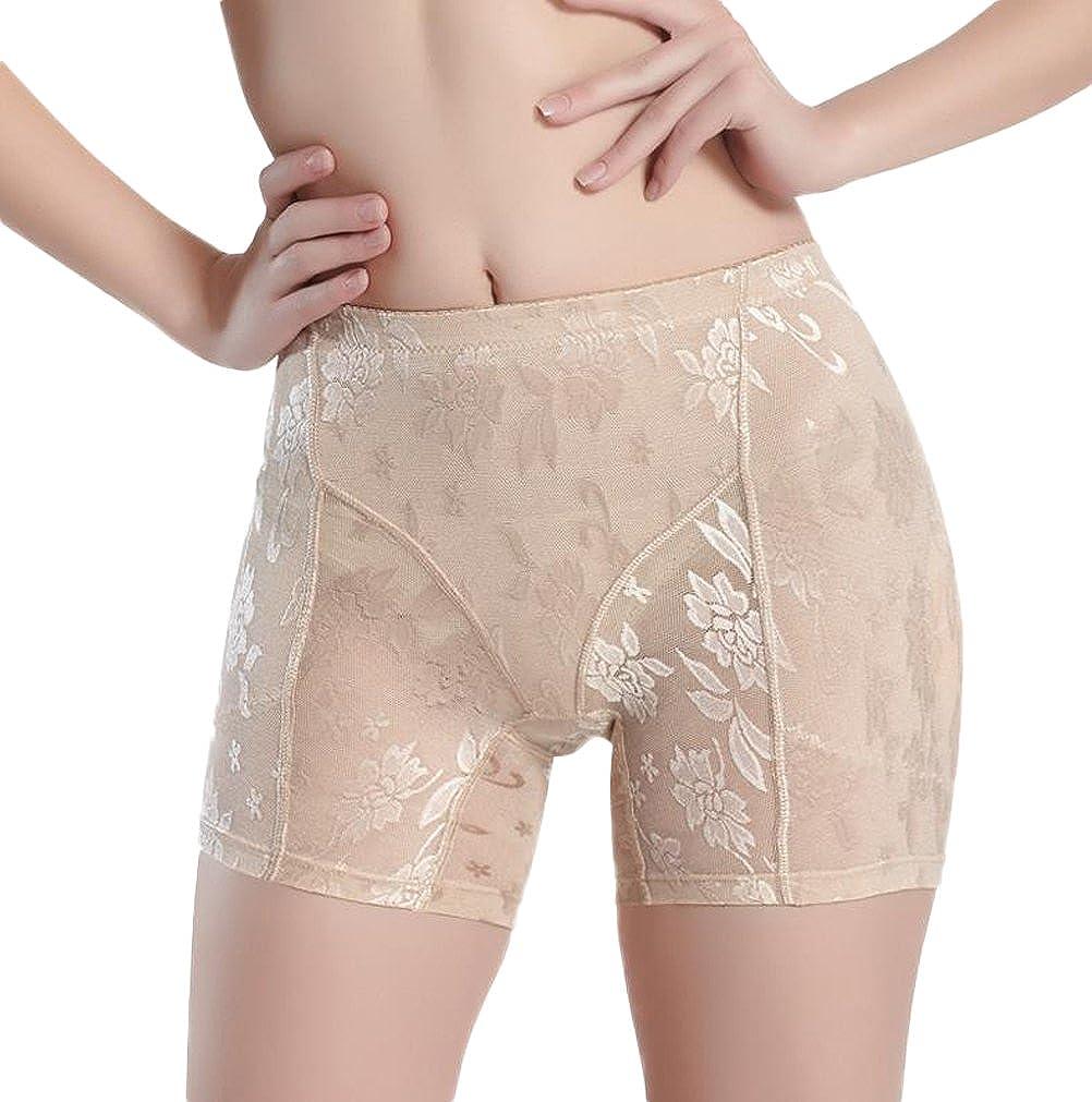 0fc3596f27e Nanxson(TM) Culotte Push Up Fausse Fesse Gainant Sans Couture Dentelle Sexy  Pour Femme NKW0035  Amazon.fr  Vêtements et accessoires