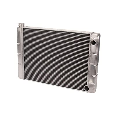 26 In. Double Pass Aluminum Racing Radiator, S/B Chevy: Automotive