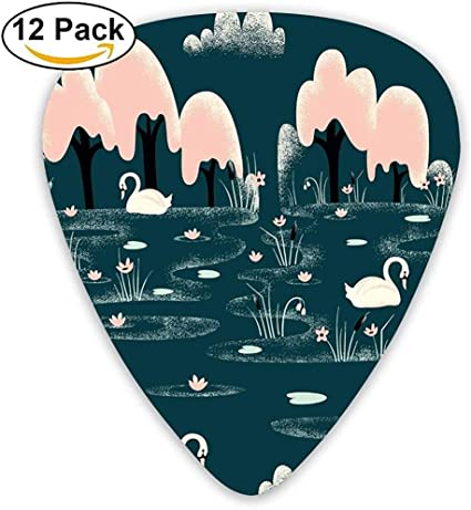 Sherly Yard 12 Pack Púas de guitarra personalizadas Patrón de ...