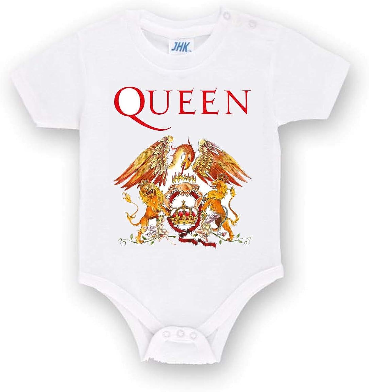 Body Personalizzato dei Queen Band in Cotone Tutina Neonato Bimbo Bimba