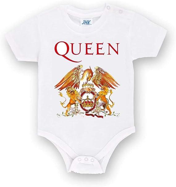 Body Personalizado de los Queen Band Metal de algodón para bebé ...