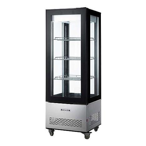 Vitrina de presentación Gourmet 400L modelo Leonie-Saro: Amazon.es ...